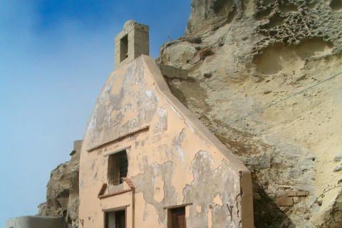 l'Eremo di San Nicola sul monte Epomeo